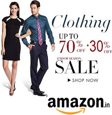 exclusive-clothing-mens-womens-upto-70-off-extra-30-off-from-amazonin