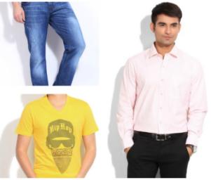 Flipkart DOD : Get Flat 50% Off on John Players Men's Clothings.