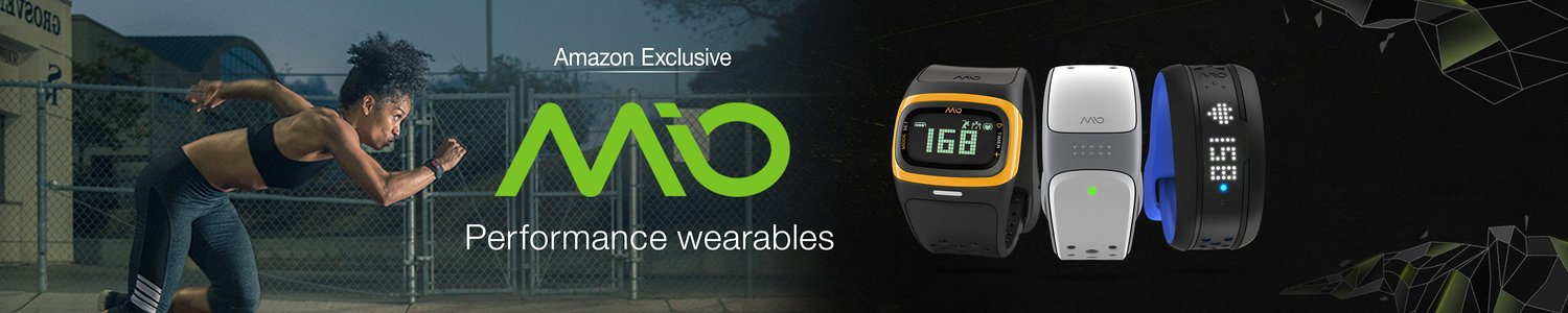 Mio FUSE Heart Rate Monitor and Fitness band