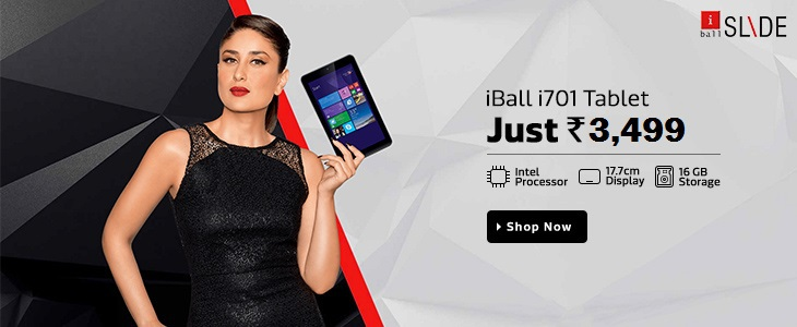 iball slide i701 tablet