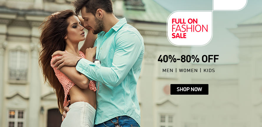 Full on fashion sale